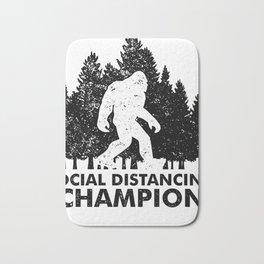 Stay at Home Order Social Distancing Champion Big Foot Bath Mat