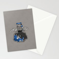 Nightlights and Oven Mitts Stationery Cards