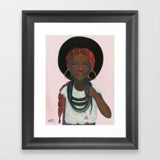 A Fear is Born Framed Art Print
