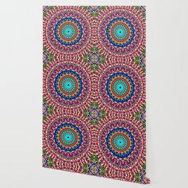 Magic Life Garden Mandala Wallpaper