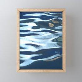 H2O # 25 - Water abstract Framed Mini Art Print