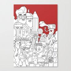 Citylife Canvas Print