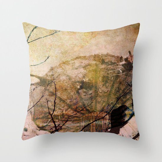 Dreams of Yesterday Throw Pillow