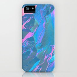 Holographic Artwork No 3 (Crystal) iPhone Case