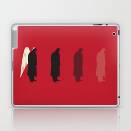 Der Himmel uber Berlin Laptop & iPad Skin