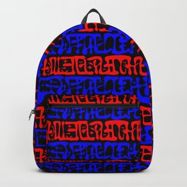 Mysterious Symbols Backpack