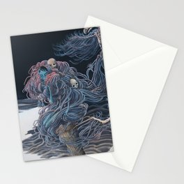 Starry Yaga Land Stationery Cards