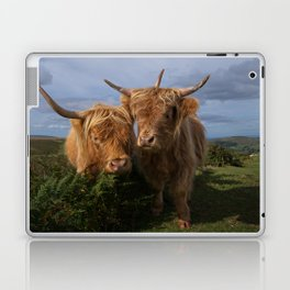 Highland Cows Laptop & iPad Skin