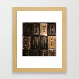 The Mixed Tape Project Framed Art Print