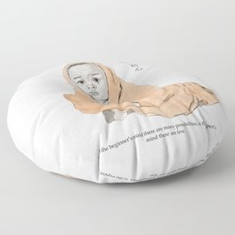 Baby Buddha Floor Pillow