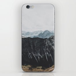interstellar - landscape photography iPhone Skin