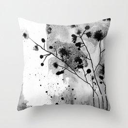 Plants IV Throw Pillow