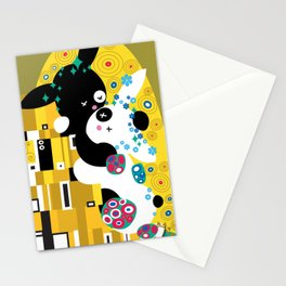 """""""Le Baiser"""" (from Klimt) Stationery Cards"""