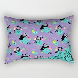 Chunky Blooms Rectangular Pillow