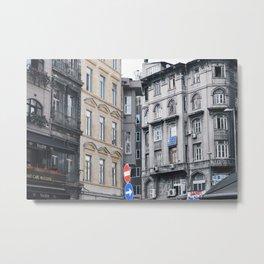Turkish Colorblock Metal Print