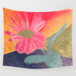 Mother's Day - Painting by young artist with Down syndrome Wall Tapestry