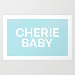 Cherie Baby Art Print