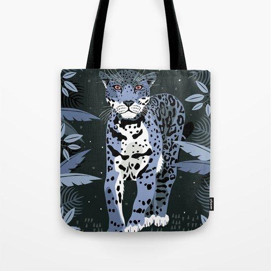 Midnight Jaguar Tote Bag