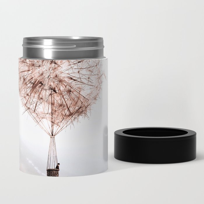 Flying Dandelion Can Cooler