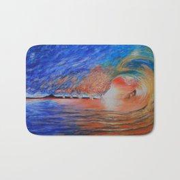 Ocean Wave Bath Mat