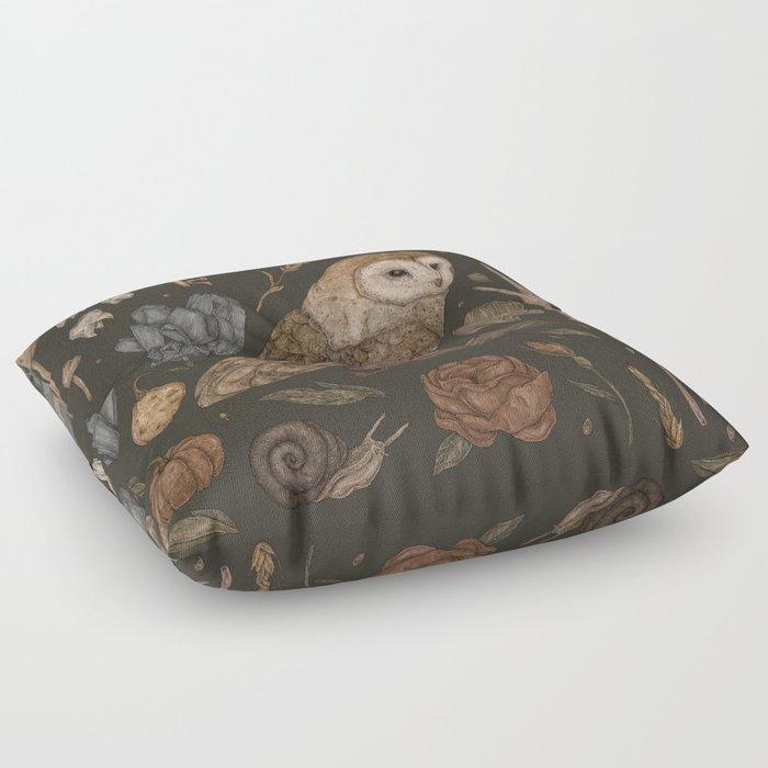 Harvest Owl Floor Pillow