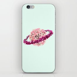 FLORAL PLANET iPhone Skin
