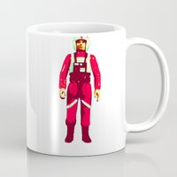 pilot Mugs featuring pilot by BzPortraits