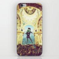 scuba iPhone & iPod Skins featuring scuba by Caroline A