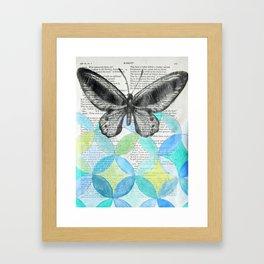 Enter Ophelia Framed Art Print