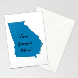 Turn Georgia Blue! Proud Vote Democratic Liberal! 2018 Midterms Stationery Cards
