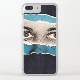far-sighted Clear iPhone Case