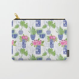 Chinoiserie Cactus Carry-All Pouch