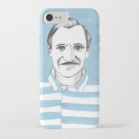 budapest hotel iPhone & iPod Cases featuring Ralph Fiennes. The Grand Budapest Hotel.  by Elena O'Neill