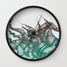 Interlocking Wall Clock