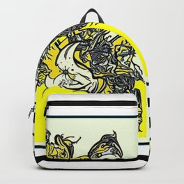 When the world fulls down, will you still be standing? Backpack