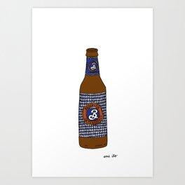 Brooklyn Brewery Oktoberfest Art Print