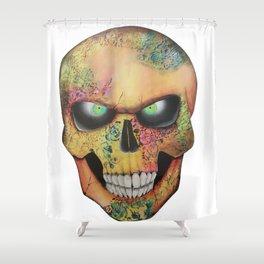 Mrs. skull Shower Curtain