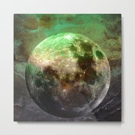 MOON under MAGIC SKY V-1 Metal Print