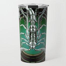 """Astrological Mechanism - Scorpio"" Travel Mug"
