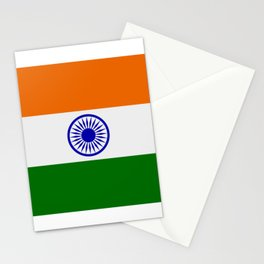 india flag Stationery Cards