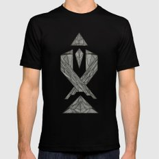 Pay the Piper MEDIUM Mens Fitted Tee Black