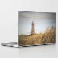 lighthouse Laptop & iPad Skins featuring Lighthouse  by Maria Heyens
