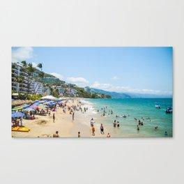 Los Muertos Beach Canvas Print