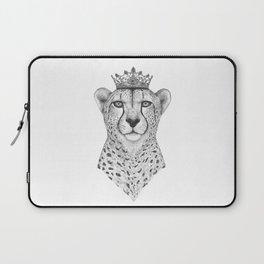 The Queen Cheetah Laptop Sleeve