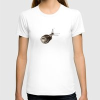 snail T-shirts featuring  Snail. by Assiyam