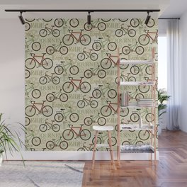 Bicycle Journey Wall Mural