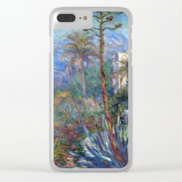 Claude Monet Villas at Bordighera Clear iPhone Case