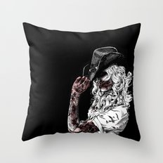 Tip of the Hat Throw Pillow