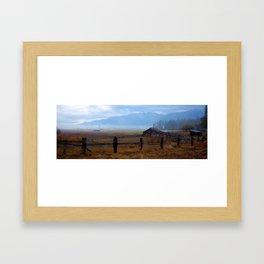 Montana Morning Framed Art Print