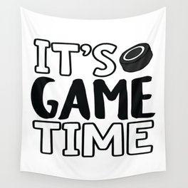 It's Game Time, Hockey Wall Tapestry